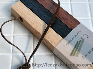FEN ZAKKA 杂货 原木锅垫 隔热垫,隔热垫,