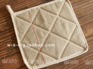 WANG【一针一线】棉麻 锅垫 隔热垫 布 日式 简洁,隔热垫,