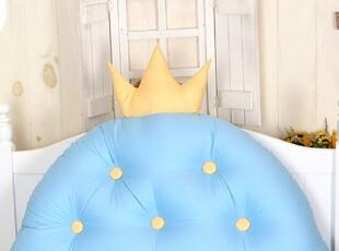 【Asa room】韩国进口代购靠枕 可爱儿童蓝色卡通床头靠垫 s347-b,靠垫,