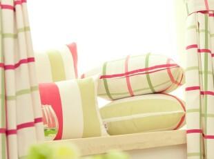 纯棉帆布印花 沙发靠垫靠垫套抱枕抱枕套靠枕 不含芯Rebecca,靠垫,