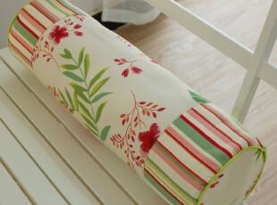 春舞蝶花-纯棉-腰靠垫 腰靠床头靠垫靠枕脖枕 沙发靠垫 含芯,靠垫,