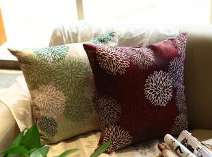 特价 繁花似锦田园风布艺抱枕 外贸沙发靠垫 含芯办公室靠枕,靠垫,