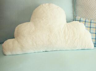 AA【韩国家居】云朵飘过~ 毛绒极细丝软软靠垫靠背65x35cm,靠垫,