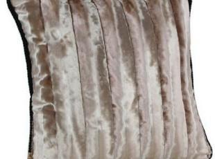 【长物志】欧式奢华长毛丝绒(含芯)靠垫套泰国进口面料,靠垫,