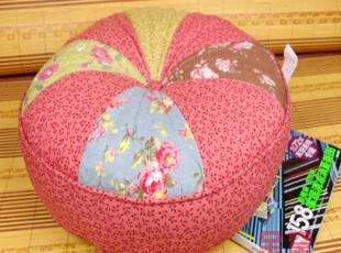 超值特价日式田园靠枕抱枕靠垫腰垫坐垫含芯南瓜垫绿底,靠垫,