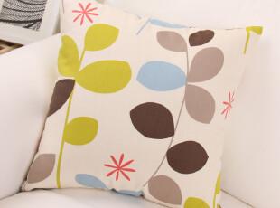 田园风格 纯棉 靠垫套/靠枕套/抱枕套/月亮树(尺寸可选),靠垫,