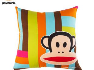 [补货到]大嘴猴 官方旗舰店 paul frank 方形 抱枕 靠枕 0200102,靠垫,