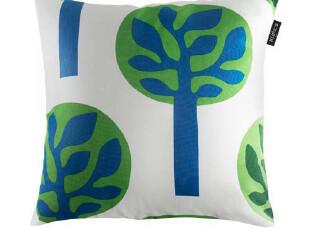 夜家居 时尚个性ZAKKA 帆布沙发抱枕/办公室靠枕/汽车靠垫 [小树],靠垫,