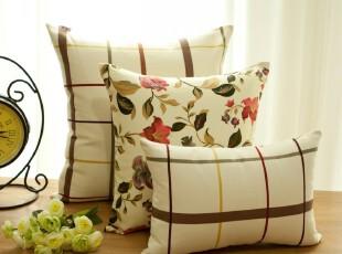 新品!纯绵 沙发靠垫/靠垫套/抱枕/抱枕套/靠枕 不含芯普罗旺斯,靠垫,
