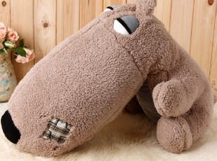 趣玩 创意靠垫抱枕 大鼻子趴趴狗毛绒公仔,靠垫,