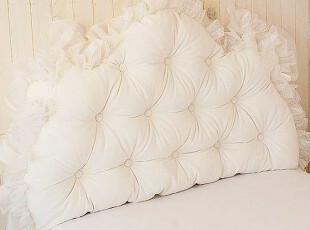 『韩国奢华定制』R901 梦幻蕾丝皇冠床头靠垫\大靠背,靠垫,