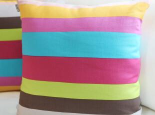 【吉屋】彩虹 抱枕套 靠垫套 抱枕 靠枕套 靠垫,靠垫,