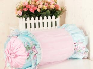 2012韩式家居公主床上用品 田园全棉布艺糖果枕圆抱枕靠垫 恋,靠垫,
