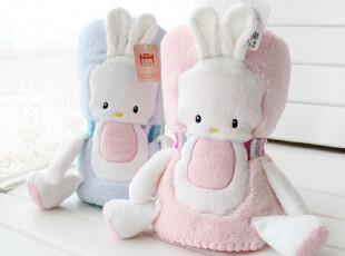 正品珊瑚绒 抱毯  宝宝空调毯 抱枕被 卡通毯子 抱枕毯子多用途,靠垫,