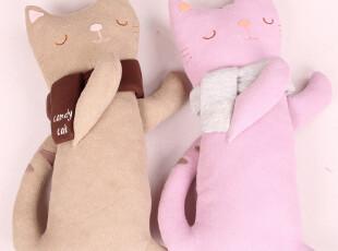 糖果猫 可爱抱忱 卡通抱枕 创意抱枕 午睡枕 可爱 卡通  FT10-Q51,靠垫,