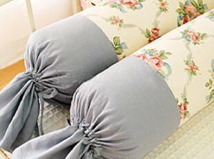 『韩国网站代购』温暖如春 清雅英式花环图案糖果靠枕,靠垫,