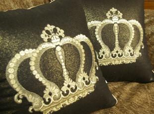 ★公主梦想★韩国家居*精致皇冠*绝美装饰靠垫 M1430,靠垫,