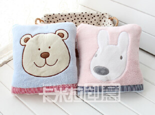 康乐屋蓓蕾布艺系列 靠垫被空调毯抱枕被卡通毯子小熊毯,靠垫,