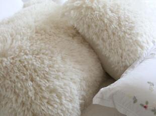 『韩国网站代购』柔软好手感 温暖毛绒靠垫,靠垫,