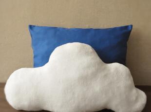 【布果】  手工定制 蓝天白云 抱枕枕头布偶,靠垫,