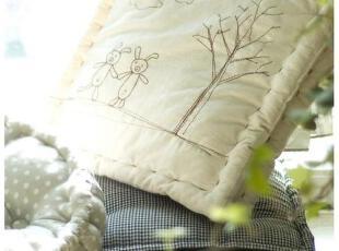 【3m家居】原创手工靠垫  抱枕  手工小熊,靠垫,