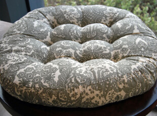 花样时光!塌塌米地垫地板餐椅胖子垫蒲团飘窗垫灰色记忆蒲团坐垫,靠垫,