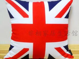 伦敦奥运 英国米字旗 奥运吉祥物 外贸全球购 布艺印花抱枕靠垫套,靠垫,