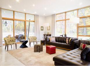 关于家具的挑选、摆放、风格等,客厅,