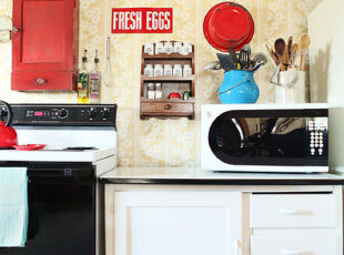 穿越时空的优雅——厨房复古打造