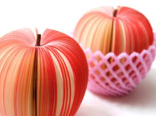 【创意本本】来自韩国的水果便签纸~~真的超像!有种想咬一口的赶脚~~,现代主义,文具,