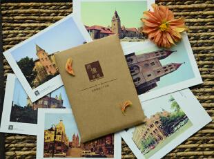 【纸品的美好】迹忆青岛·原创明信片,地中海风情,DIY,