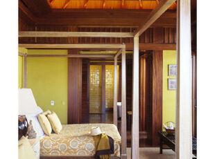 床榻物语:三分大胆,七分精致,卧室,新古典,原木色,