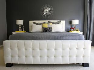 床榻物语:三分大胆,七分精致,卧室,现代,白色,