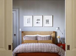 床榻物语:三分大胆,七分精致,卧室,简约,紫色,原木色,