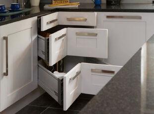 精挑细选橱柜,打造一流厨房,厨房,现代,白色,