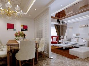 在这个寸土寸金的时代,想要每一寸面积都利用极致,可巧用客厅隔断设计,将客厅区域共享于其它的功能区,打造一室多用魅力空间。 ,客厅,欧式,白色,原木色,