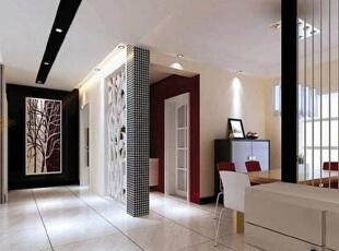 在这个寸土寸金的时代,想要每一寸面积都利用极致,可巧用客厅隔断设计,将客厅区域共享于其它的功能区,打造一室多用魅力空间。 ,客厅,日式,黑白,