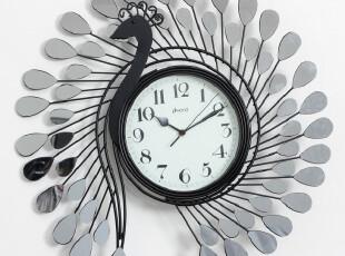 最美时光之创意时钟,墙面,中式,简约,黑白,