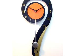 最美时光之创意时钟,墙面,欧式,简约,黄色,黑白,