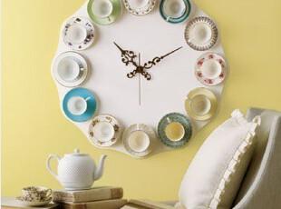 最美时光之创意时钟,墙面,现代,简约,黄色,