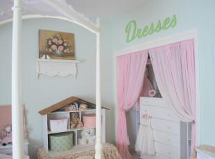 小公主的梦幻世界,儿童房,田园,粉色,