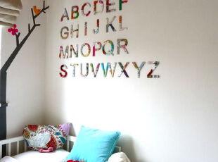 小公主的梦幻世界,儿童房,欧式,简约,白色,蓝色,红色,