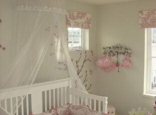小公主的梦幻世界,儿童房,欧式,田园,粉色,
