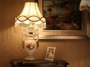 ,灯具,欧式,白色,