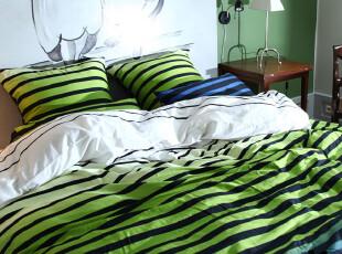 ,卧室,墙面,田园,绿色,白色,