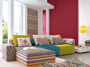 ,客厅,墙面,宜家,红色,春色,