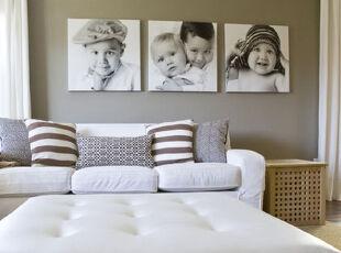,卧室,墙面,相片墙,简约,白色,