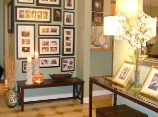 ,客厅,墙面,相片墙,宜家,原木色,