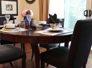 全原木色系的简约风格餐厅,自然大方,餐厅,墙面,餐台,欧式,小资,原木色,