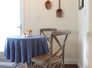 ,餐厅,墙面,田园,小资,蓝色,原木色,